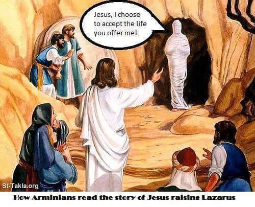 Arminian Lazarus