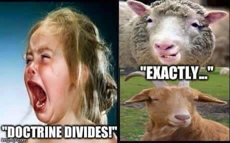 Doctrine divides
