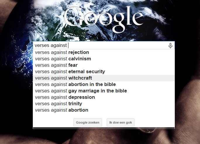 Verses against